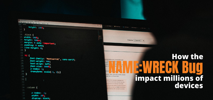 How the NAME:WRECK Bug impact millions of devices